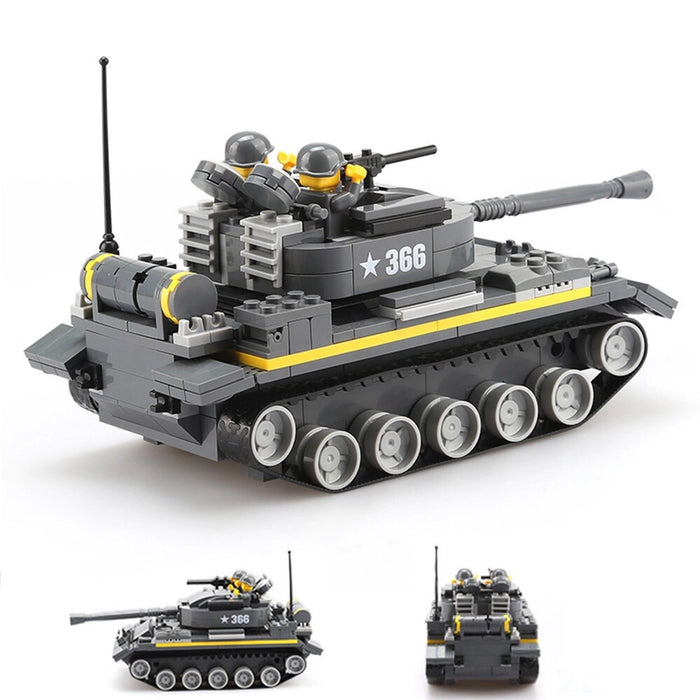 compatible lego tank