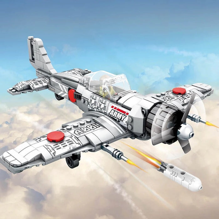 compatible lego Japanese zero fighter