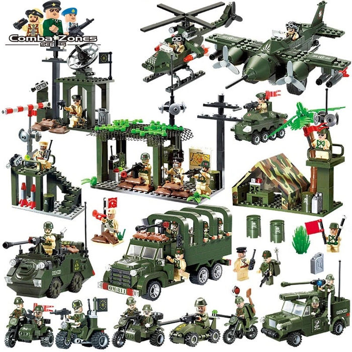 ww2 army toys and playsets