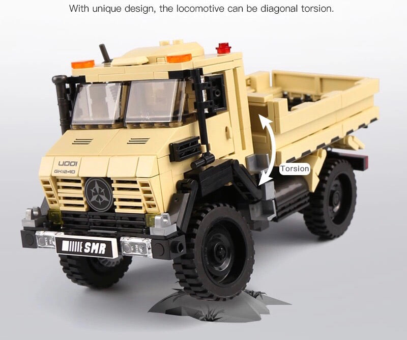 Off-Road Military Truck