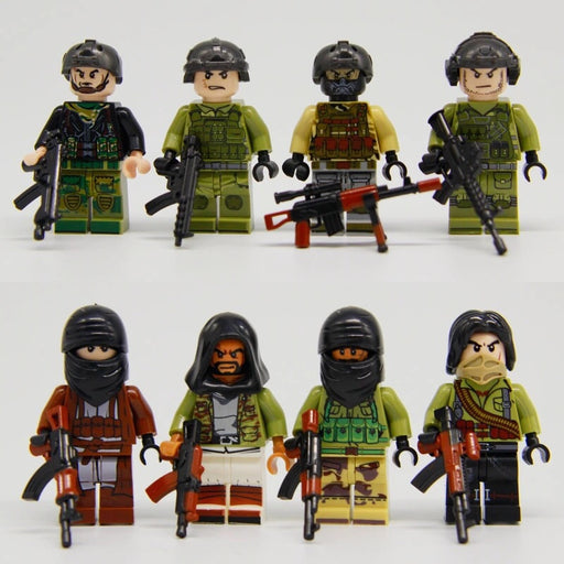 custom lego military figures