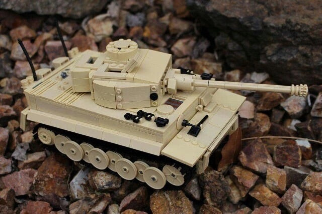 ww2 compatible lego army tank