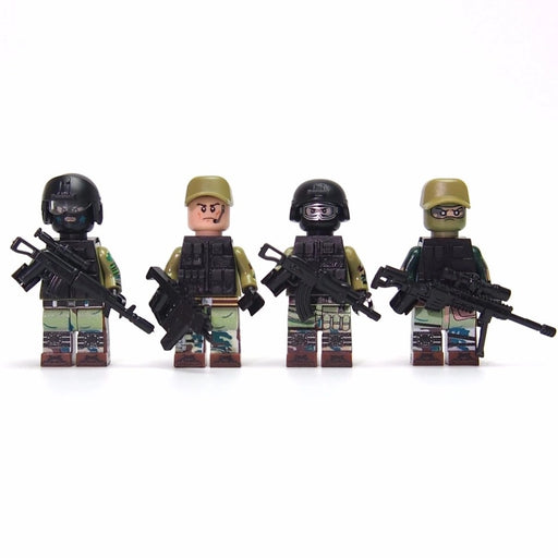 compatible lego Russian army squad