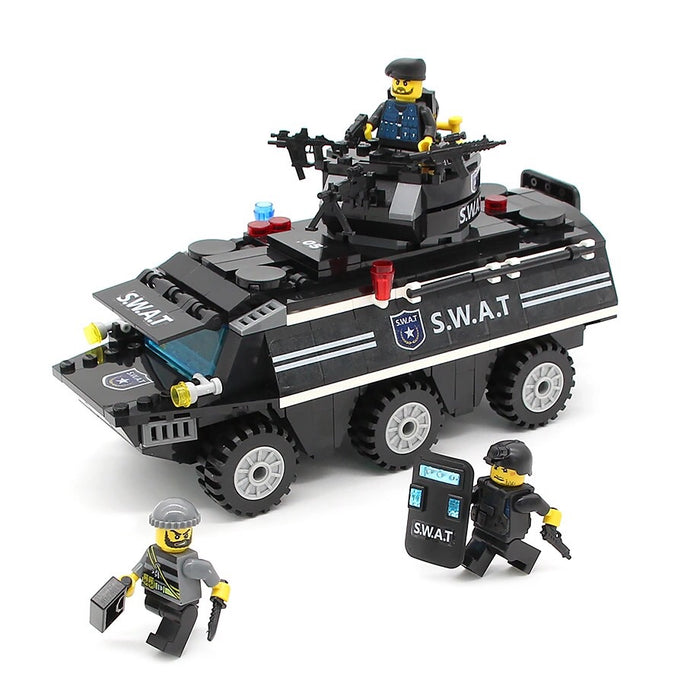 Police toys and figures
