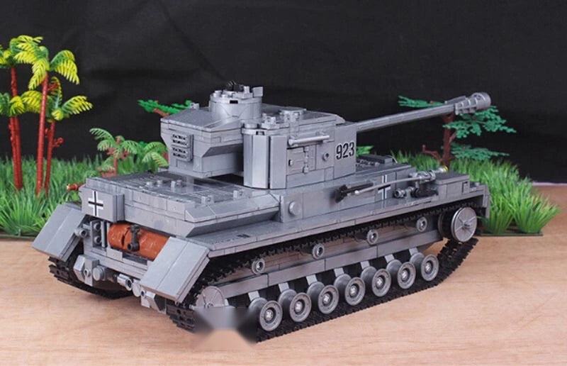 WW2 German Panther Medium Tank