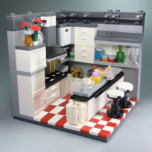 compatible lego kitchen moc