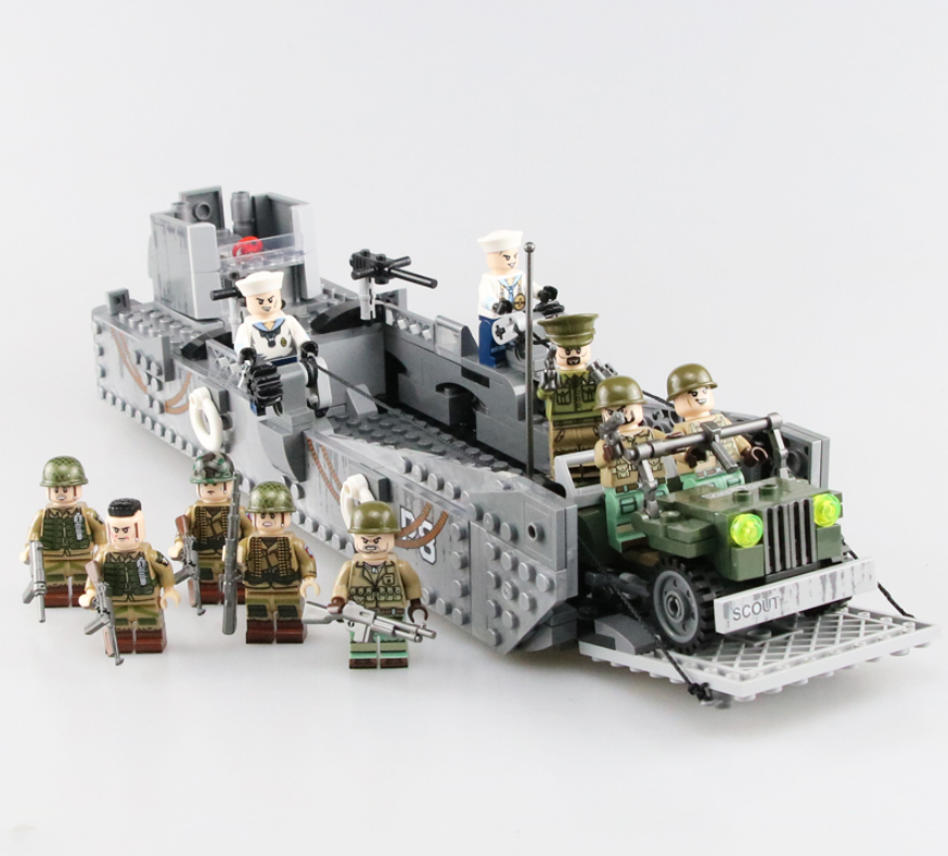 custom lego LCM 3 landing craft