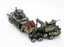 WW2 US Army M25 Tank Transporter + M3 Stuart Light Tank