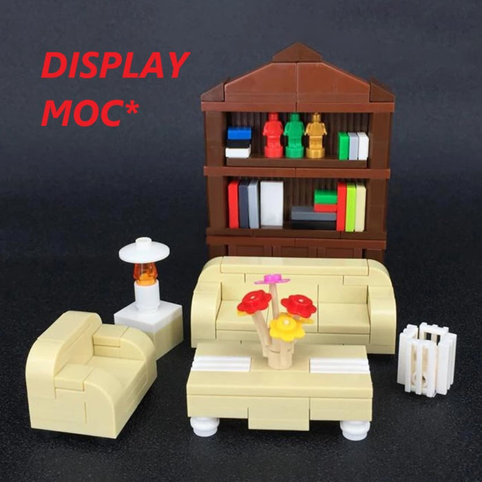 custom lego living room