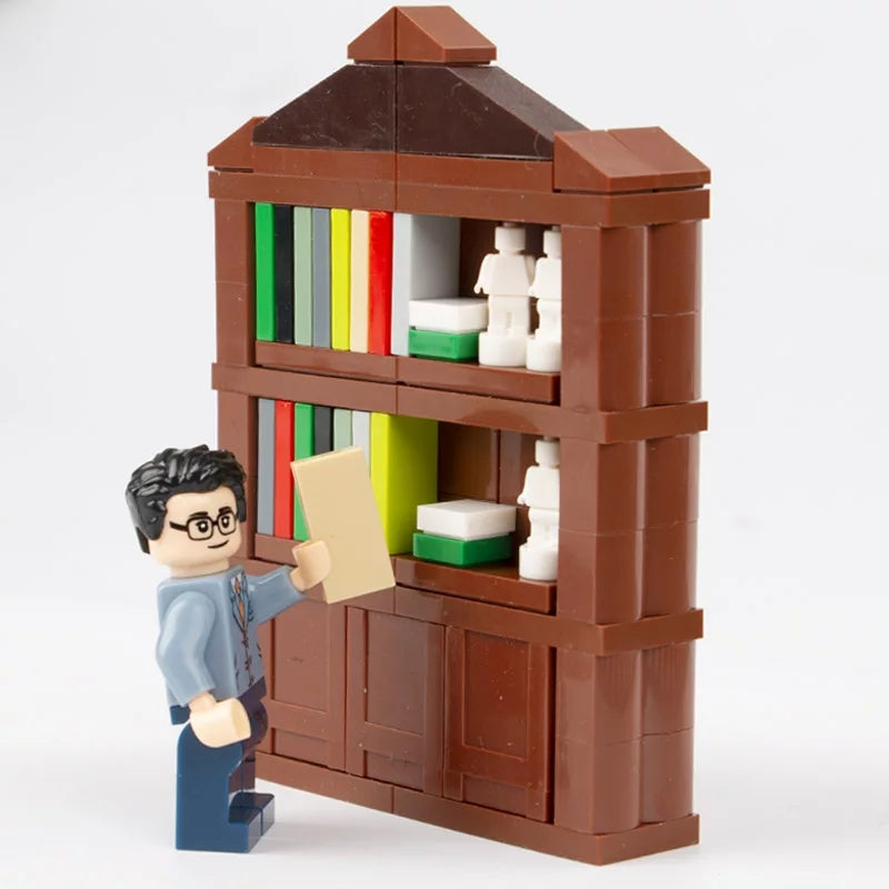 custom lego bookcase