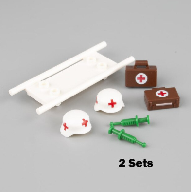 compatible lego medical accessories
