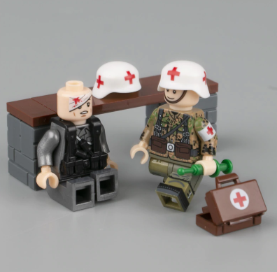 custom lego ww2 military medics