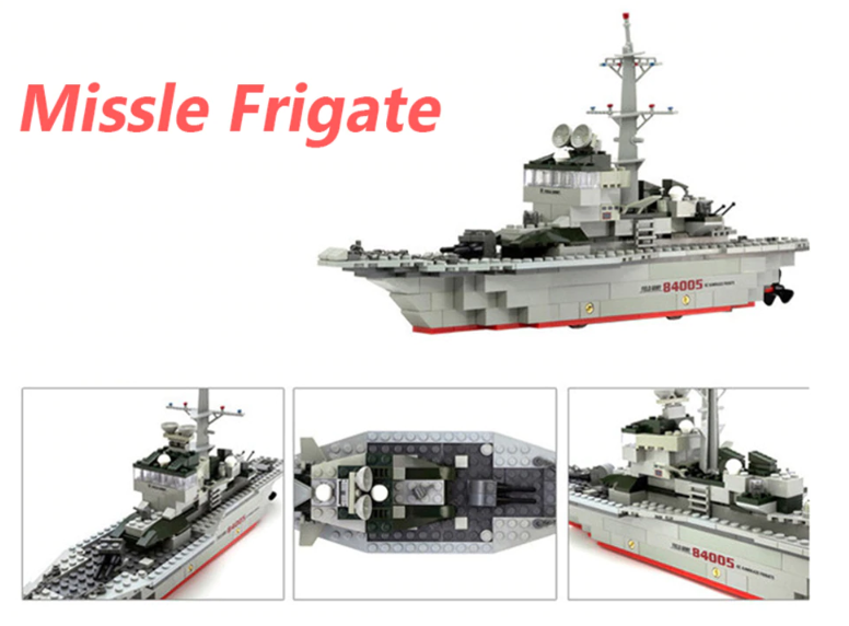 Missile Frigate toy