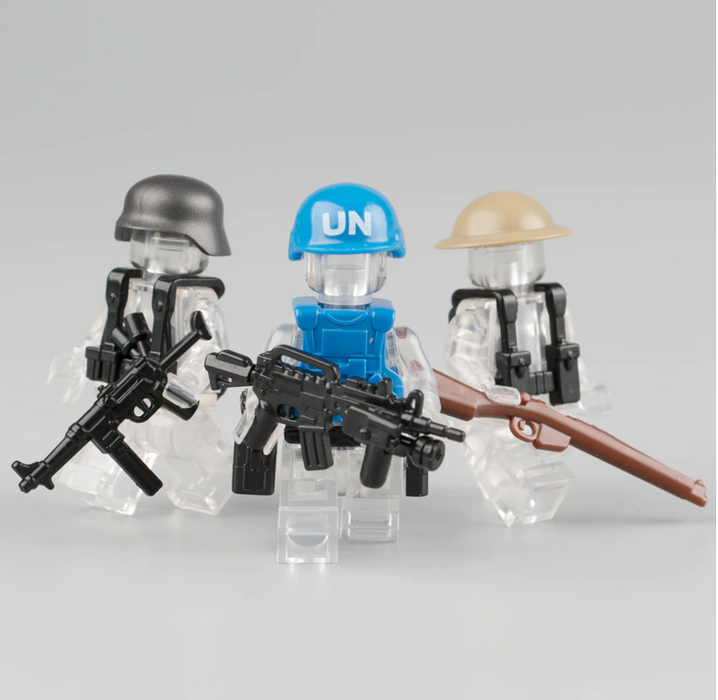 compatible lego military weapons and gear accessories