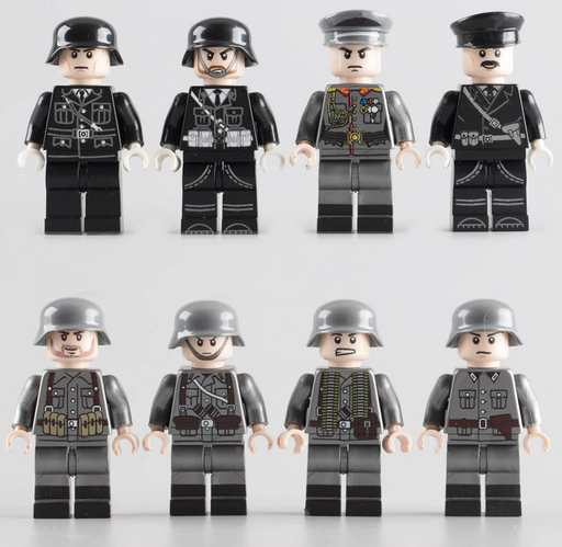 compatible lego WW2 German unit
