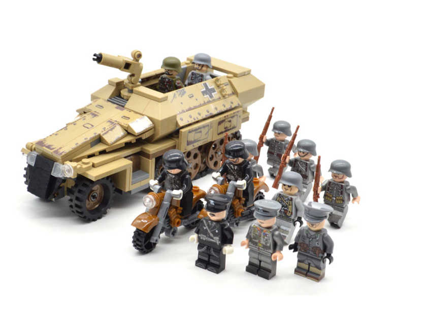 Custom lego Panzergrenadier