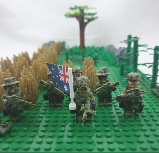 Australian Royal Infantry regiment minifigs