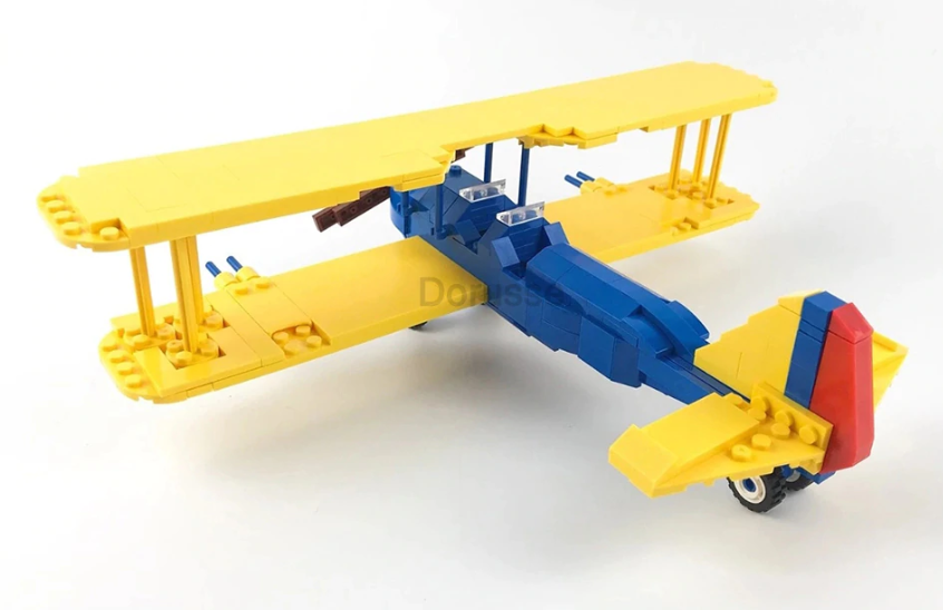 custom lego boeing stearman model 75 kaydet