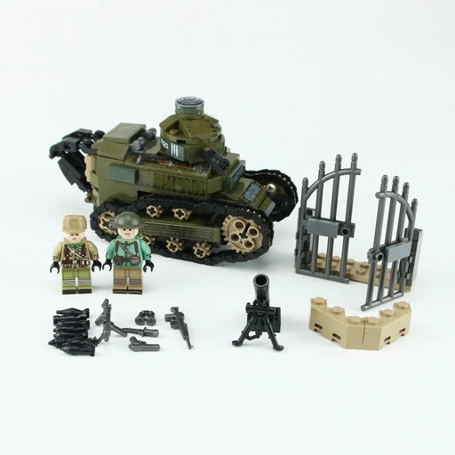 custom lego FT-17 french light tank