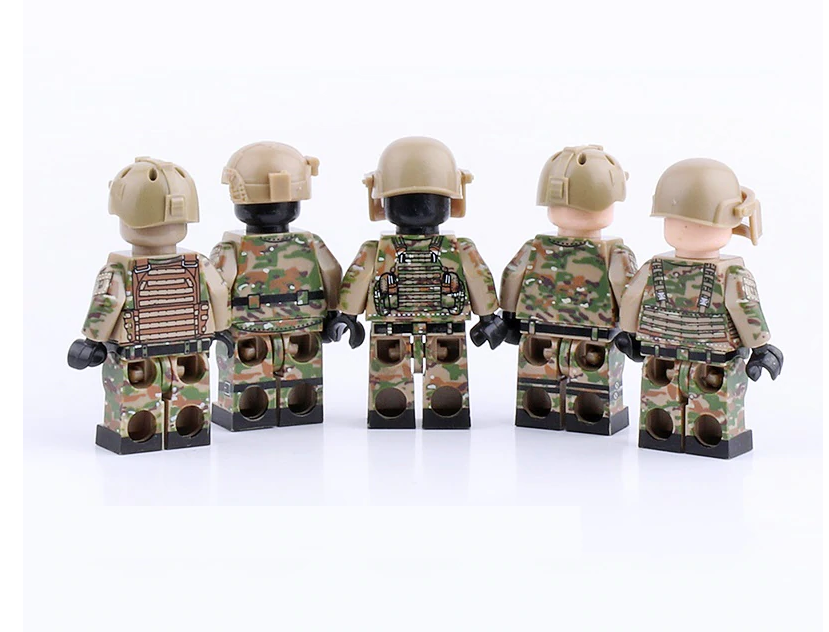 compatible lego russian spetsnaz figures