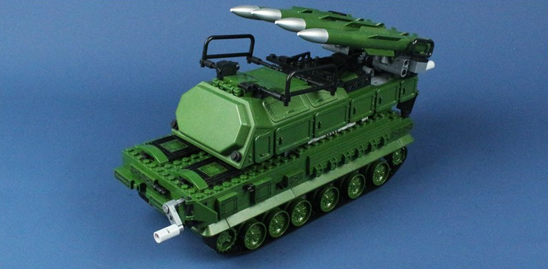 Russian Army toy tank