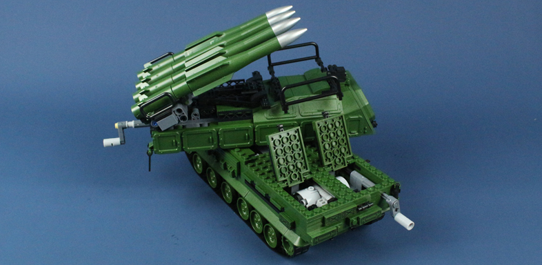 Russian BUK M2 Mobile Air Defence System