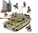 compatible brick built army tank