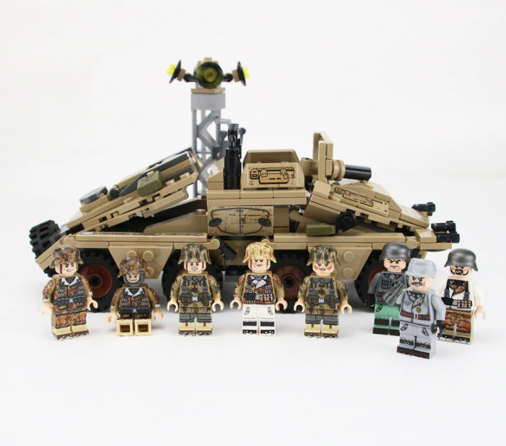 compatible lego German SD.KFZ.233 Z APC