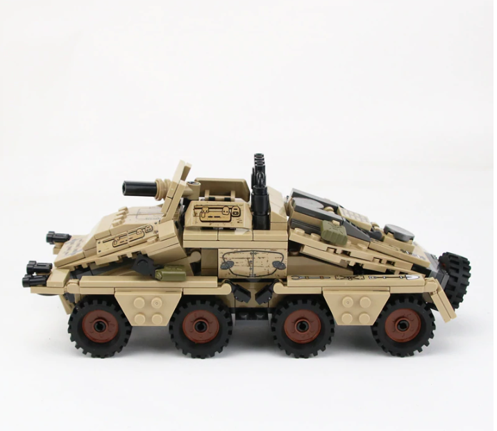 WW2 German Army SD.KFZ.233Z APC