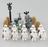custom lego skeletons and halloween party moc
