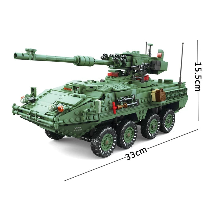 US Army Stryker M1128 Mobile Gun System (MGS)