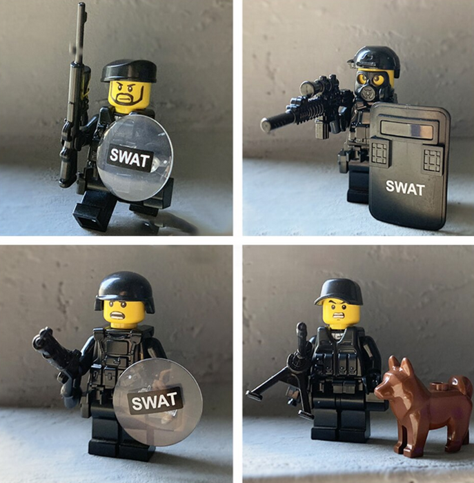compatible lego city police