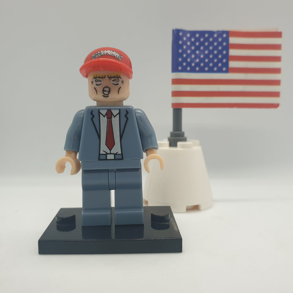 compatible with lego trump minifigure