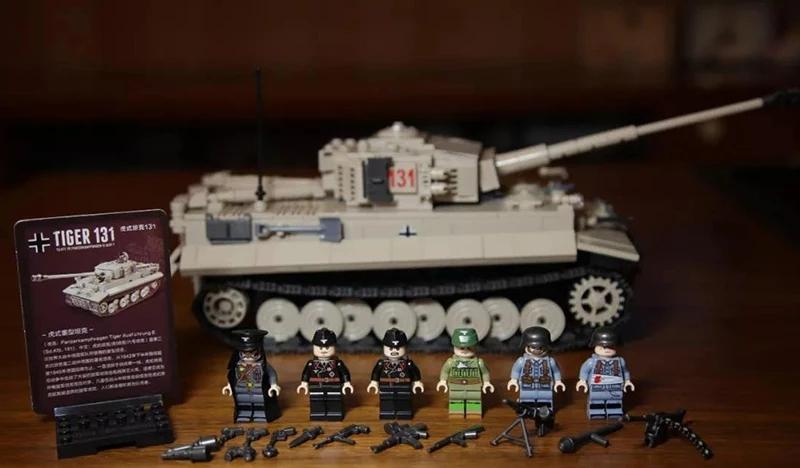 custom lego german tiger tank