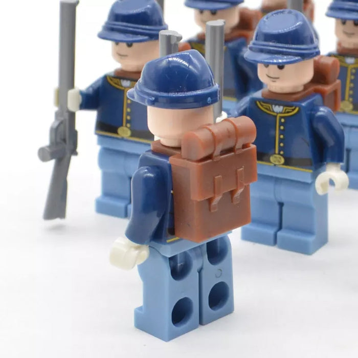 compatible lego Union figure USA civil war figure