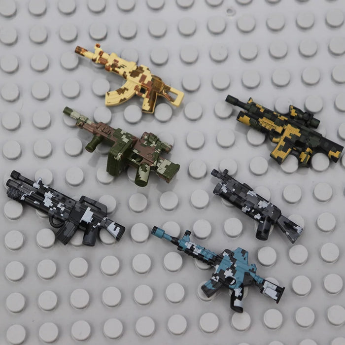 Custom brickarms weapons pack