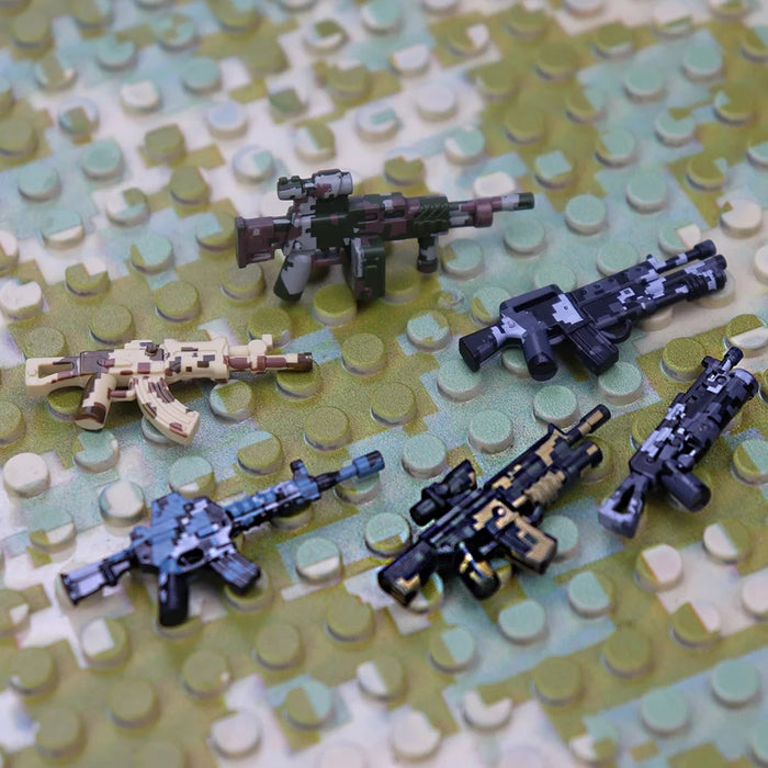 premium printed custom brick arms weapons pack
