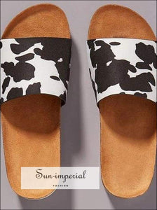 Copy of Women Summer Beach Sandals Flats Casual Shoes Woman Slides Slippers Outdoor Cork Sandalias - SUN-IMPERIAL United States
