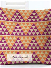 Geometric Cushion Case European Style Linen Cotton Home Decorative Pillow Cover Throw Sofa home decor, pillow case SUN-IMPERIAL United