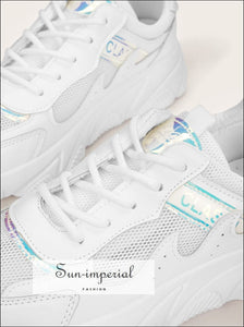 Lace-up Front Chunky Sole Trainers SUN-IMPERIAL United States
