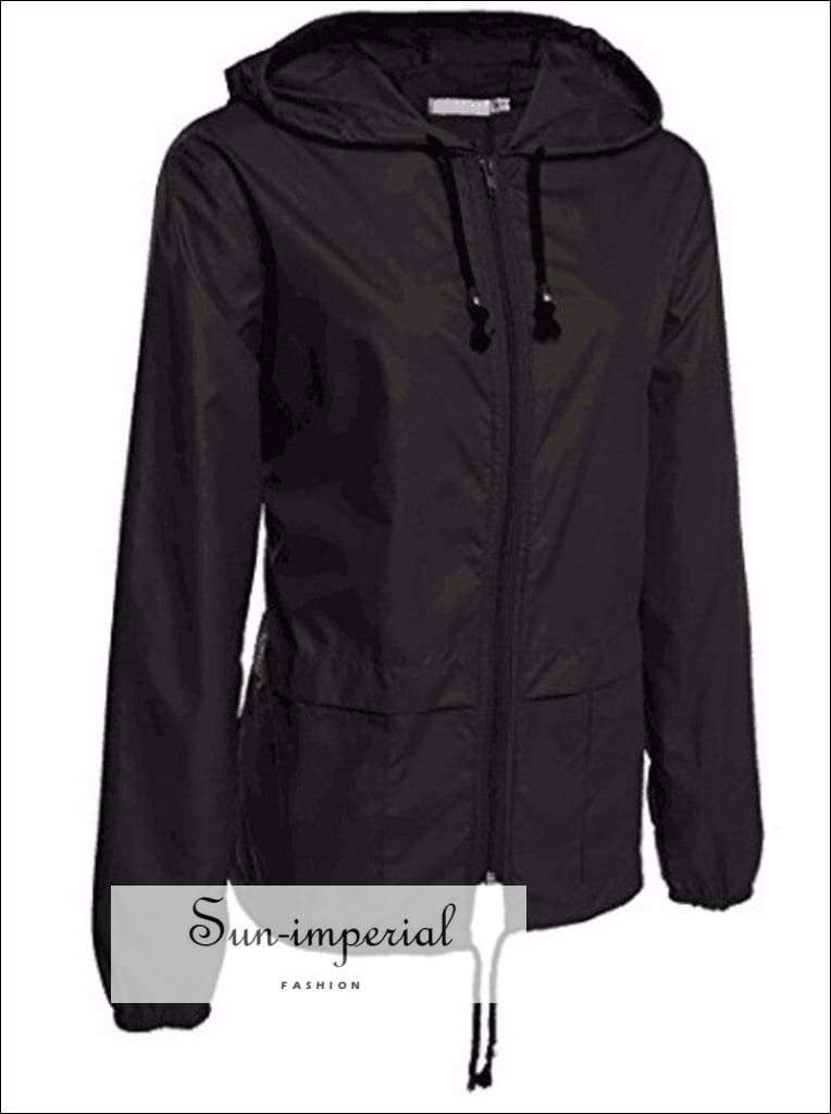 Long Hooded Sports Jacket Women Coat Running Training plus Size Jacket Fashion Pocket Long Sleeve
