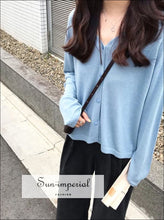 Oversize V Neck Crop Cardigan Women Summer Knitted Cardigans Sweater Tops