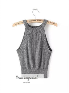 Ribbed Knitted Tank top 2
