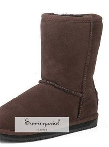 Sheepskin Double Face 22 Cm Classic Boots SUN-IMPERIAL United States