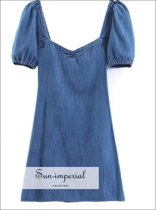 Sun-imperial Denim Dress Women Backless Bodycon Evening Summer Dresses Mini