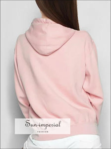 Women Soft Hoodie with Drawstrings and Kangaroo Pockets Casual Hooded Drop Shoulder Sweatshirt