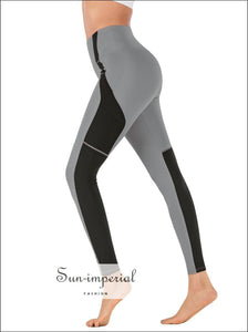 Women Yoga Pants Breathable Running Fitness Leggings Ladies High Waist Elastic