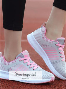 Women's Lightweight Gym Sneakers Running Sports Shoes Breathable Dropshipping 0806 SUN-IMPERIAL United States