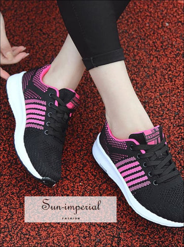 Womens Lightweight Gym Sneakers Running Sports Shoes Breathable Shoes Dropshipping 0806 SUN-IMPERIAL United States