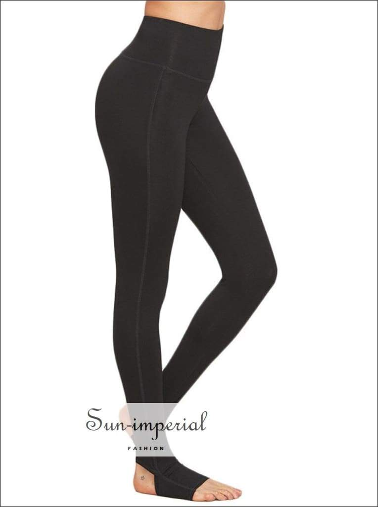 Yoga pants women high waist leggings plus size yoga elastic breathable running fitness trousers SUN-IMPERIAL United States